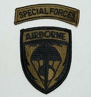 US United States Special Forces Airborne Embroidered Military Patch - US163