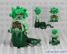 LEGO Series 10 - Medusa 71001 Minifigure Minifig Circus White Mime CMF