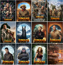 Jumanji:The Next Level Movie 2019 Mirror Surface Postcard Promo Card Collect ew