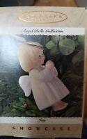 1995 Hallmark Ornament Joy Porcelain Angel Bells Showcase Collection NIB NEW IN