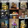 ONLY LED Light Lighting Kit For Lego 71040 75828 21310 10260 75827 10243 10251
