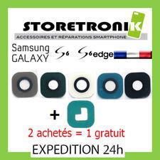 VITRE LENTILLE + ADHÉSIFS SAMSUNG GALAXY S6 / S6 EDGE G920 G925 - 2+1 GRATUIT