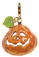Kirks Folly Smile Pretty Pumpkin Add A Charm-Halloween Jack-O-Lantern-Goldtone