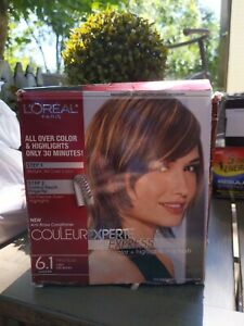 L'Oreal Paris Couleur Experte 2-Step Hair Color Highlights Kit 6.1 French Eclair