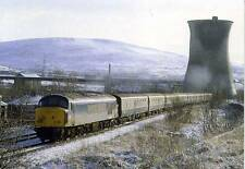 Diesel locomotive Class 45 45127 Stalybridge unused 1984 postcard