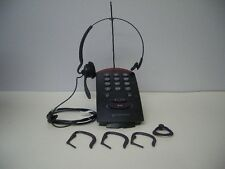 Plantronics T10 Single Line Corded Headset Telephone Dial Key Pad with HS Stand