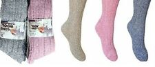 3 -6  Pairs Ladies blend Thick Wool Thermal Boot Socks Walking Hiking Ski Winter