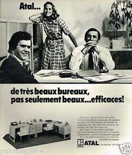 Publicité advertising 1975 Les Bureaux Atal