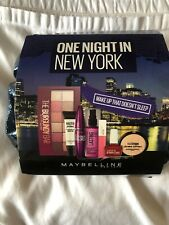 Maybelline One Night In New York 8 Item Makeup Set! Worth £69.