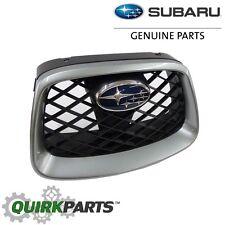 2006-2007 Subaru Impreza WRX & STi Center Grille Urban Grey Metallic OEM NEW