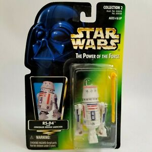 Star Wars POTF Power Of The Force R5-D4 1996 Kenner New