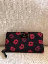 Authentic Kate Spade Neda Wilson Road Mini Poppy Nylon Wallet Floral