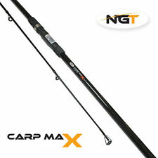 NGT CARP MAX ROD 12FT/3.6M LONG 2 SECTION 2.75LB TEST CURVE COARSE FISHING