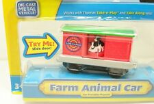 Fisher Price Thomas & Friends Take-N Play Farm Animal Car (Rare Retired)