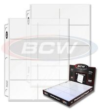200 BCW 8 Pocket Pages