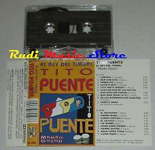 MC TITO PUENTE El rey del timbal Mambo gozon 1993 italy SALUDOS cd lp dvd vhs