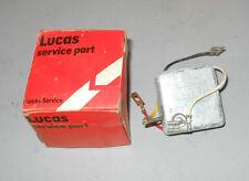 NOS Lucas Alternator Regulator UCB108 Machine Sensing. 76-80 XJ6 & TR7-8 ---->