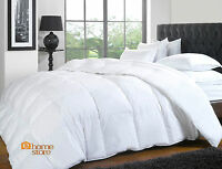 DUCK FEATHER AND DOWN DUVET QUILT,  ALL SIZES AVAILABLE + 2 DUCK FEATHER PILLOWS