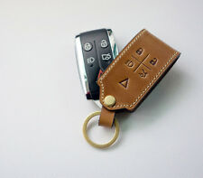 DEX Leather Smart Key CoverChain Case Fob For JAGUAR XF, XK, XKR