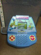 SIMPSONS handheld video-game LCD Tiger Electronics 1990 cartoon Bart FOX
