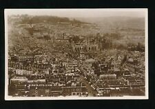 Somerset BATH Bird's Eye View used c1920/30s? RP PPC