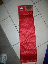 "Trim A Home Tree Skirt 48"" Holiday Red"
