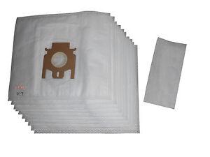 1 Hepafliter passend für Miele S 714 10  Staubsaugerbeutel