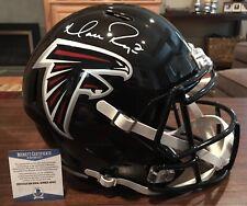Matt Ryan Autographed Riddell Atlanta Falcons Full Size Speed Helmet Beckett