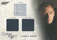 "James Bond In Motion: TC01 ""Bond"" Triple Costume Card #0149/1300"