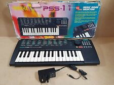 Yamaha Portasound PSS-11 Electronic Keyboard With Power Lead
