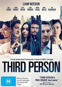 THIRD PERSON (2013) NEW DVD