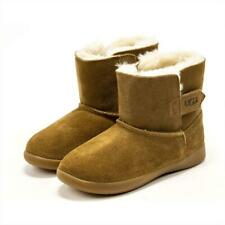 UGG Keelan Toddler Suede Sheepskin Lined Winter Boots Boys Girls Shoes