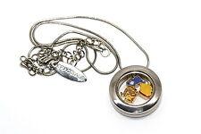 Floating Pooh Eeyore Floating Charms Bracciale Disney Round Locket Necklace