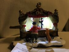 NEW Holiday Time LED PUPPET SHOW Christmas Village