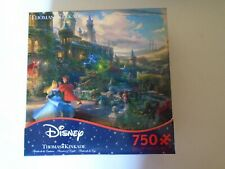 Ceaco Thomas Kinkade Disney Jigsaw Puzzle 750 Piece Sleeping Beauty New Sealed