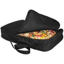 """Camerons Black Polyester Casserole Tote, Fits up to 10"""" x 16"""" Dish"""