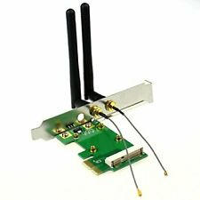 AKORD Mini PCI-E To PCI-E x1 Wireless Adapter With 2.4G Double Antenna