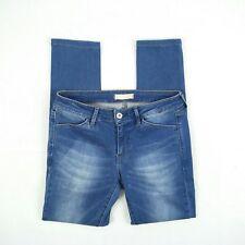 UNIQLO - Blue Skinny 7/8 Length Stretch Denim Jeans Women's Size 26 W28