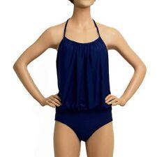 Colour Block Machine Washable One-Piece Swimwear for Women