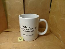 It's Better At The Beach! Chinook Winds Casino Resort Coffee Mug (Used/Euc)