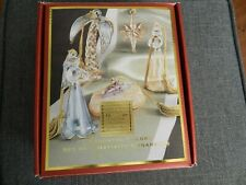 Lenox Set of 5 Nativity Ornaments, Assorted Colors