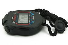 Sport Running LCD Digital Countdown Stopwatch UP Timer Alarm Clock Chronograph