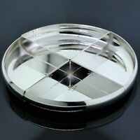 Vintage Cartier 925 Sterling Circle Four Piece Jewelry/Accessory Tray/Holder