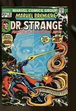 MARVEL PREMIERE #10 FINE+ 6.5 DOCTOR STRANGE / DEATH OF ANCIE ONE 1973 MARVEL