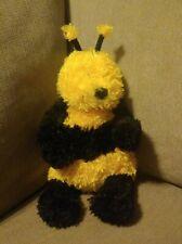 """Jelllycat London Bashful Bee Bumble Bunglie Yellow Black Plush 9"""" NEW NWT"""