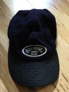 VINTAGE BILLABONG  WOOL/COTTON CAP HAT Adjustable SIZE