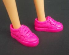 2017 Barbie Shoes Fashionistas Tennis Coach Doll Pink Flat Sneakers Fit Skipper