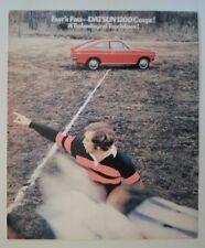 DATSUN 1200 COUPE orig 1972 UK Mkt Sales Leaflet Brochure