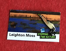 More details for rspb-pin badge bittern  leighton moss  on a (sufn). backing card **free post**