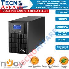 Gruppo Di Continuità UPS Online Onda Sinusoidale Pura 1000VA Stufe Pellet Server